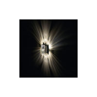 Swarovski Verve 1 Light Halogen Wall Sconce in Stainless Steel with Clear Crystal A9950NR700254