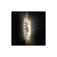 Swarovski Verve 5 Light Halogen Wall Sconce in Stainless Steel with Clear Crystal A9950NR700255