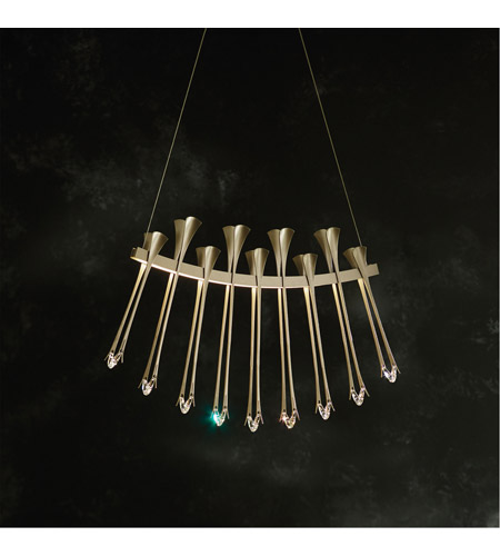 beb896ac419b Synchronicity 139788-1006 Artemis LED 3 inch Vintage Platinum with Crystal  Accent Pendant Ceiling Light