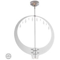 Synchronicity 139004-1042 Rain LED 3 inch Vintage Platinum/Polished Chrome Pendant Ceiling Light in Short 3000K Vintage Platinum with Polished