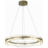 Synchronicity 139780-1007 Solstice LED 36 inch Soft Gold Pendant Ceiling Light