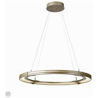 Synchronicity 139784-1063 Aria LED 34 inch Soft Gold with Soft Gold Accent Pendant Ceiling Light