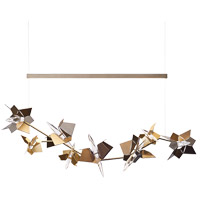 Synchronicity 139813-1058 Belladonna LED 20 inch Dark Smoke with Soft Gold Accent Pendant Ceiling Light