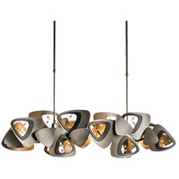 Synchronicity 139863-1010 Hendrix 4 Light 8 inch Dark Smoke with Black Accent Pendant Ceiling Light