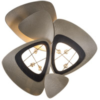 Hendrix 1 Light 14 inch Soft Gold with Black Accent ADA Sconce Wall Light