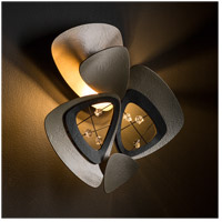 Synchronicity 203305-1007 Hendrix 1 Light 14 inch Soft Gold with Black Accent ADA Sconce Wall Light alternative photo thumbnail