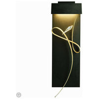 Rhapsody LED 9 inch Soft Gold with Mahogany Accent ADA Sconce Wall Light