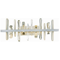 Synchronicity 207918-1006 Solitude LED Vintage Platinum/Crystal Sconce Wall Light