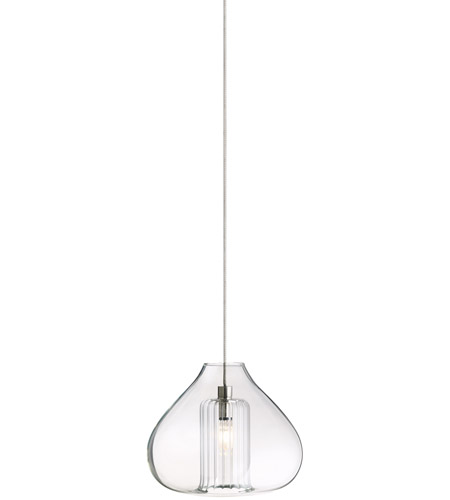 tech lighting cheers 1 light low voltage pendant in satin nickel