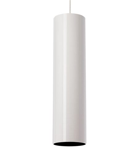 tech lighting piper grande 1 light pendant in white. Black Bedroom Furniture Sets. Home Design Ideas