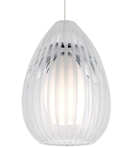 Tech Lighting 700fjavacs Ava 1 Light 5 Inch Satin Nickel Low Voltage Pendant Ceiling In Clear Freejack