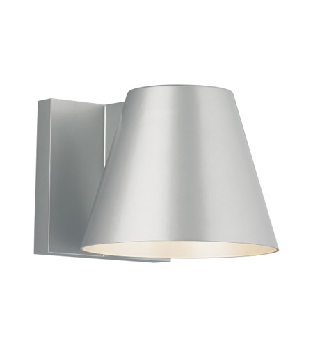 Tech Lighting 700WSBOW6I-LED830 Bowman LED 6 inch Silver Outdoor Wall Sconce photo thumbnail