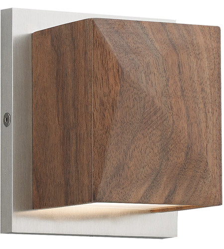 Cafe LED 4 inch Satin Nickel ADA Wall Sconce Wall Light