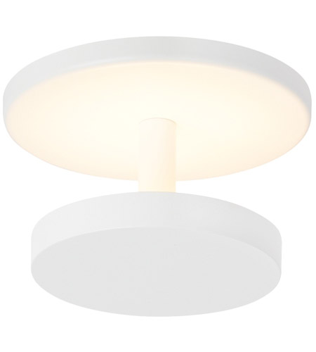 Tech Lighting 700fmctc6ww Led927 Centric Led 4 Inch White Semi Flush Ceiling Light Photo