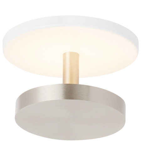 Tech Lighting Satin Nickel Semi-Flush Mounts