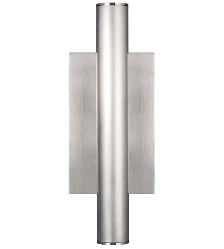 Satin Nickel Aluminum Outdoor Wall Lights