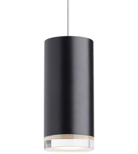 tech lighting 700fjdbsbs led930 dobson ii led 3 inch black with