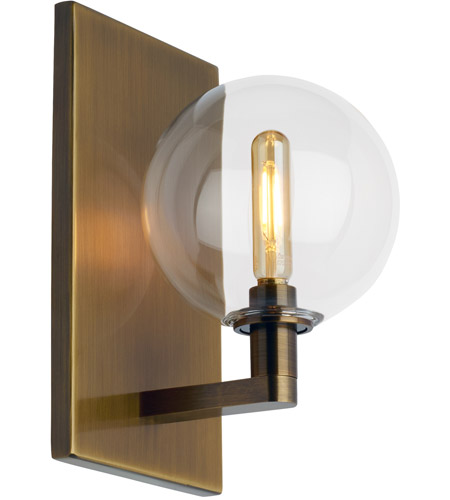 info for ea873 55f1e Tech Lighting 700WSGMBSCR-LED927 Gambit LED 6 inch Aged Brass Wall Sconce  Wall Light