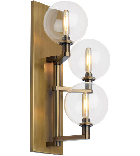 Tech lighting 700wsgmbtcr led927 gambit led 8 inch aged brass wall tech lighting 700wsgmbtcr led927 gambit led 8 inch aged brass wall sconce wall light aloadofball Images