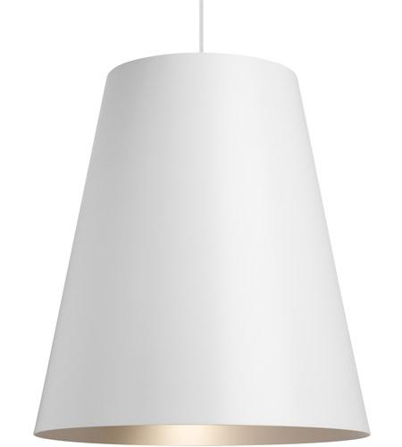 Tech Lighting 700tdgunpws Led930 Gunnar Led 24 Inch White And Satin Haze Pendant Ceiling Light
