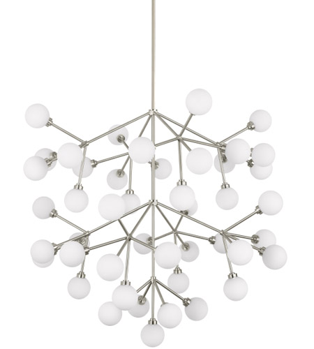 Tech lighting 700mragws led927 mara grande led 33 inch satin nickel chandelier ceiling light photo
