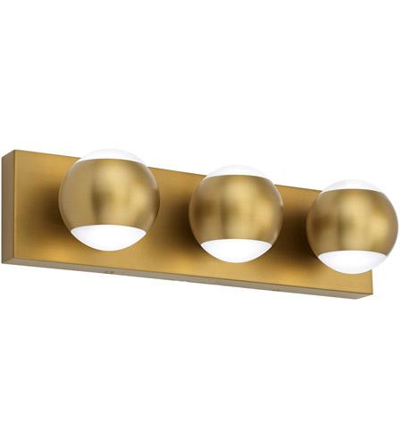 Tech Lighting 700bcoko3r Led930 Oko Led 18 Inch Aged Brass