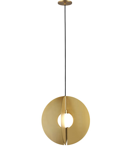 Aged Brass Orbel Pendants