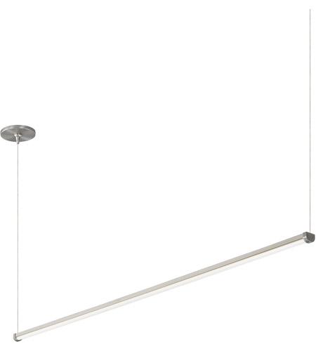 Tech Lighting 700lsraer648s Led930 Rae Led 49 Inch Satin Nickel Linear Suspension Ceiling Light