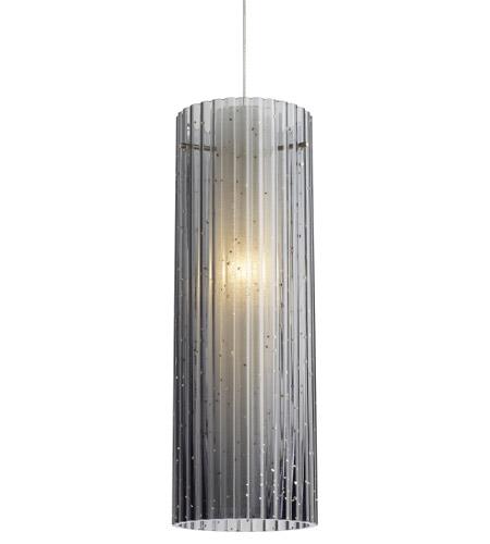 Tech Lighting 700mormbks Leds930 Rombo Led 4 Inch Satin Nickel Pendant Ceiling Light
