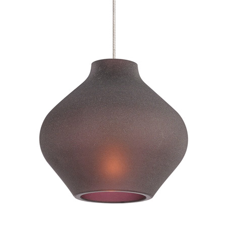 Tech Lighting Scavo Led Low Voltage Pendant In Satin Nickel 700mo2scams Photo