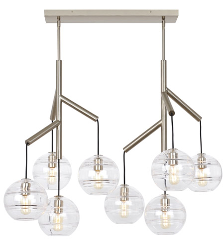 Tech Lighting Satin Nickel Sedona Chandeliers