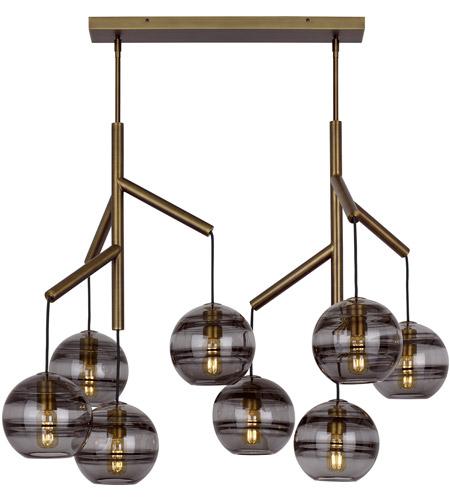 Tech Lighting 700sdnmpl2kr Led927 Sedona Led 39 Inch Aged Br Double Chandelier Ceiling Light