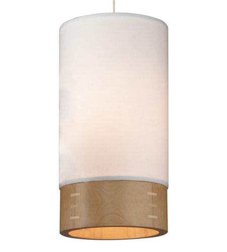 Tech Lighting 700fjtpowws Topo 1 Light 5 Inch Satin Nickel Low Voltage Pendant Ceiling In White Walnut Freejack Halogen