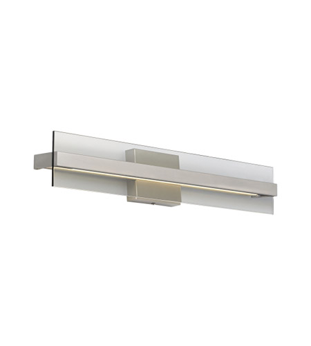 Tech Lighting 700WSWIN1MKS-LED835-277 Windrush LED 3 inch Satin Nickel Wall Sconce Wall Light photo thumbnail