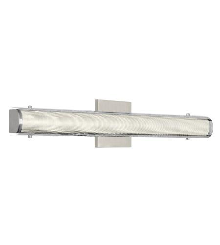 Tech Lighting 700bczka24ts Led930 Zuka Led 24 Inch Satin Nickel Bathroom Vanity Light Wall