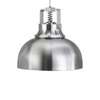 Tech Lighting Cargo Solid 1 Light Low-Voltage Mini Pendant in Satin Nickel 600FJMCRGSS