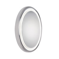 Tech Lighting Tigris Oval 8 Light Bath Mirror in Chrome 700BCTIGOR24C