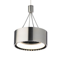 Tech Lighting 700FJCORS-LED830 Corum LED 5 inch Satin Nickel Low-Voltage Pendant Ceiling Light in FreeJack