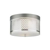 Tech Lighting Renata 1 Light Flushmount in Satin Nickel 700FMRENSMS-LED277