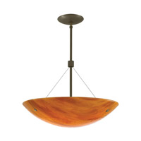 Larkspur 2 Light 19 inch Antique Bronze Suspension Ceiling Light