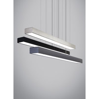 Knox LED 45 inch Black Linear Suspension Ceiling Light