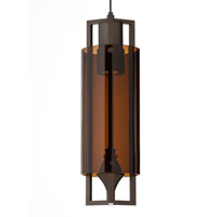 Tech Lighting 700MO2PJTNZ-LED Projekt LED 4 inch Antique Bronze Low-Voltage Pendant Ceiling Light in Brown 2-Circuit MonoRail