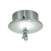 Two Circuit Monorail 12V Satin Nickel Rail Surface Transformer Ceiling Light