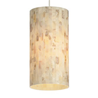 Tech Lighting Playa 1 Light Pendant in Satin Nickel 700MPPLANS
