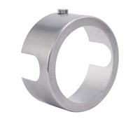 Sportster Satin Nickel Lens Holder in PAR30