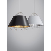 Tech Lighting Artic Grande 1 Light Pendant in Satin Nickel 700TDATCGPWSYSS-LED