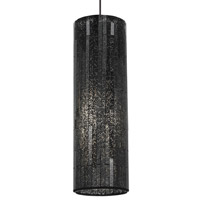 Peyton 1 Light 5 inch Black Pendant Ceiling Light in Brown, Monopoint, Incandescent