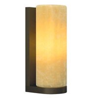Cabo 1 Light 5 inch Antique Bronze Wall Sconce Wall Light in Onyx, Fluorescent