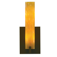 Tech Lighting Cosmo 1 Light Wall Sconce in Antique Bronze 700WSCOSAZ-CF
