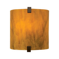 Essex 1 Light 4 inch Antique Bronze ADA Wall Sconce Wall Light in Beach Amber, Fluorescent